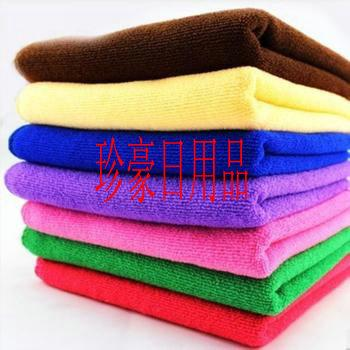 Microfiber cleaning cloth, warp-knitted fabrics, weft-knitted fabric, multi-functional wipes