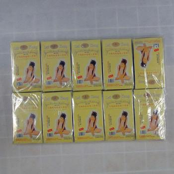 Core-spun silk short stockings packaged individually factory direct export trade
