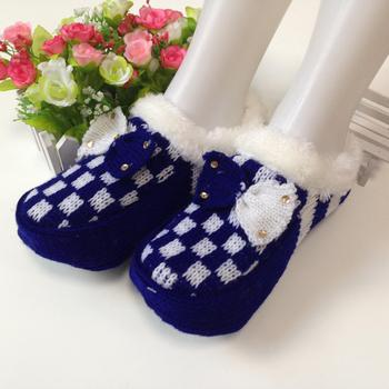 Good quality with classical design argyle women's home socks