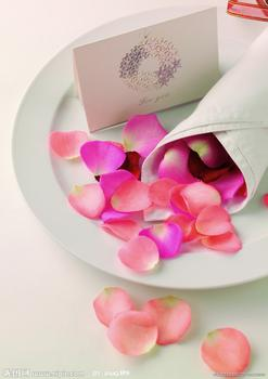 Wedding flowers brides scatter petals factory outlets of color variety
