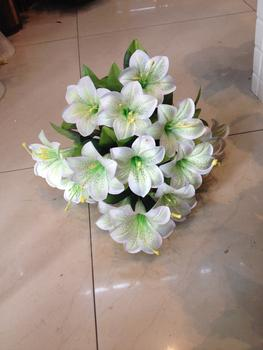 12 small manufacturers selling artificial flowers Roses artificial flowers of lily plant simulation