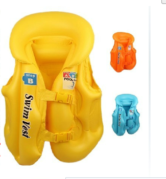Hot on a portable children's life jackets floating suit inflatable toys water supplies