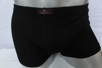 Baolei boxed men's boxer briefs u convex style super soft modal fabric thin 8441