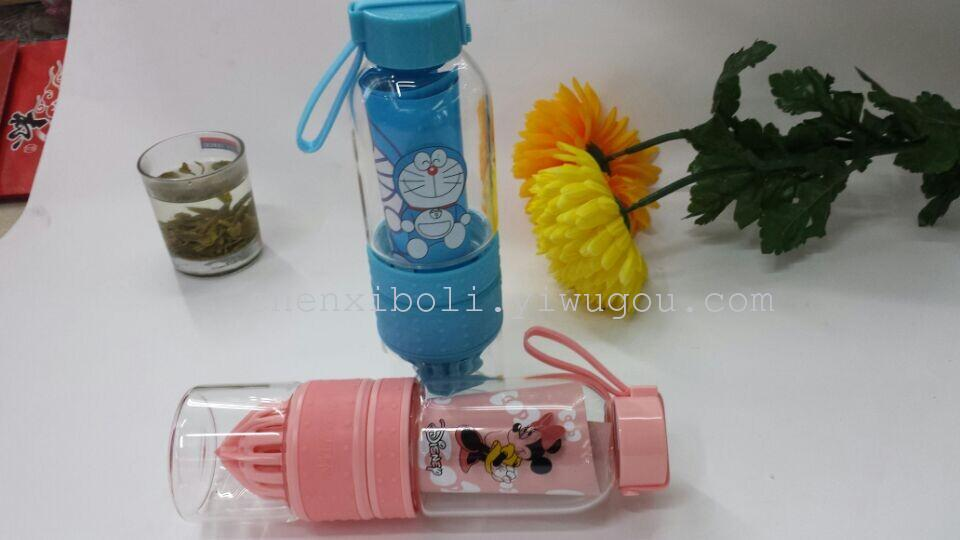 Cartoon Juice Glass Cartoon Lemon Glass Juice