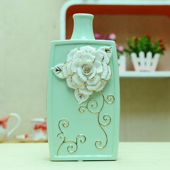European fashion decals on ceramic vases decorative ornaments and soft crafts 02635