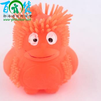 Penguin plush elastic ball manufacturers selling children's toys fireball into the Flash-ball vent balls/