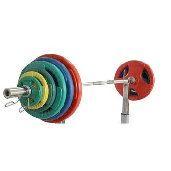 Barbell  Olympic set Barbell  Color PlasticCoated  barbell