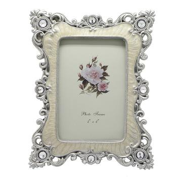 Combination of high-end European fashion vintage photo frames wedding wedding gift ornaments resin photo frame crafts wholesale