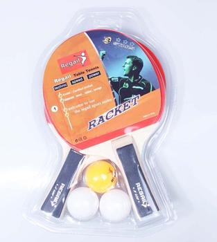 High quality,Regail  A508  table tennisracket,pingpong racket
