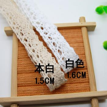 1.5cm small cotton cotton lace sleeves/kids/DIY hand-sewing