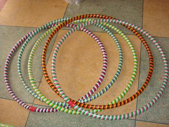 Child Hula Hoop. rattan hoop. Bonnie circle