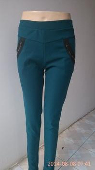 Plain pencil trousers pants fashion footless tights