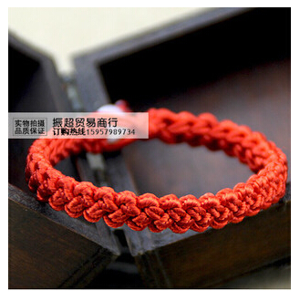 Zhao Wei and spread the new SpongeBob Christmas Red String Bracelet bracelets 2 dollar store wholesale