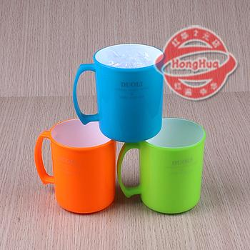 0060-Cup plastic cups 2 cups wholesale brush Cup