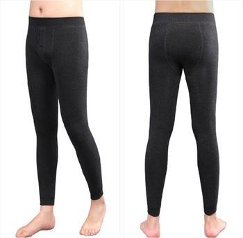 Bamboo cotton and fertilizer to increase men's one warm pants