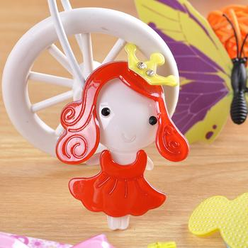 Korean version of children's hair accessories hairpin hair clip plastic resin cartoon animals to catch clips wholesale