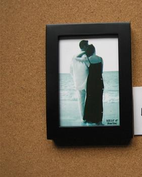 Photo wall solid wood picture frames