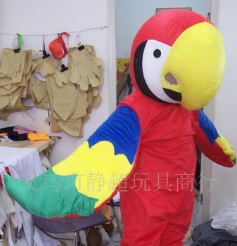 Supply Cartoon Doll plush toys cartoon dolls clothing Parrot clothing factory outlet