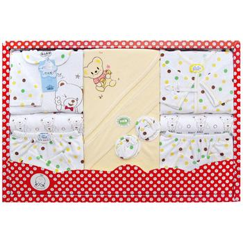 Newborn gift box cotton baby clothes, baby gift sets men and women clothing suits wholesale and manufacturers