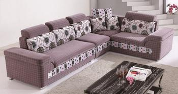 Upscale boutique fashion leisure fabric sofa living room furniture factory outlet