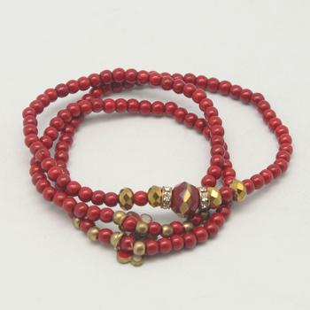 Manufacturers selling bracelets of red turquoise mixed ethnic bracelets wholesale Western jewelry