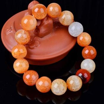 Dragon veins agate beads jewelry natural 10MM powder bracelet factory direct Beads Bracelet